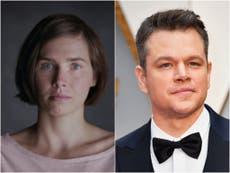 Amanda Knox doubles down on Matt Damon Stillwater criticism and accuses him of 'gross negligence'