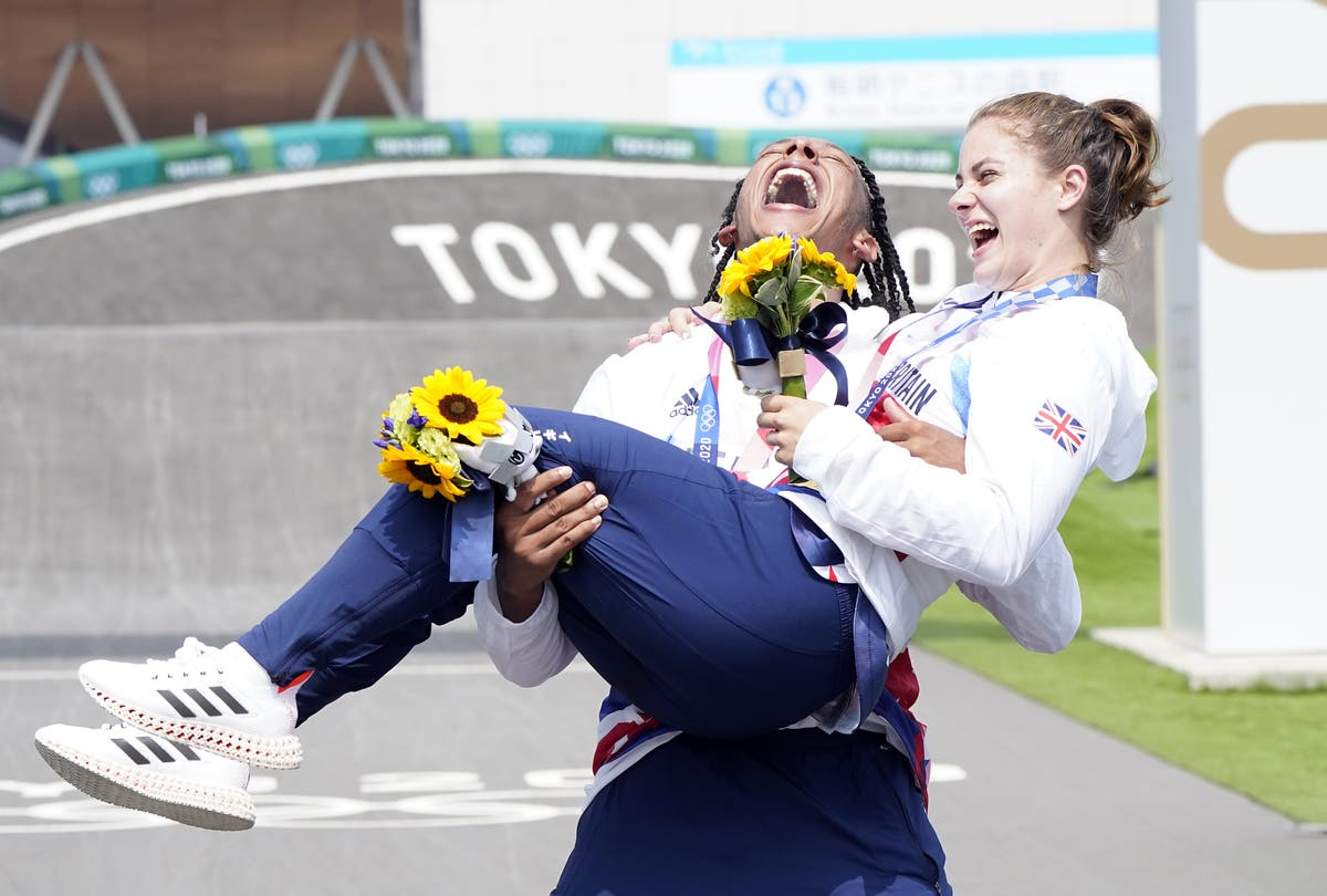 Beth Shriever and Kye Whyte create history with BMX medals in Tokyo