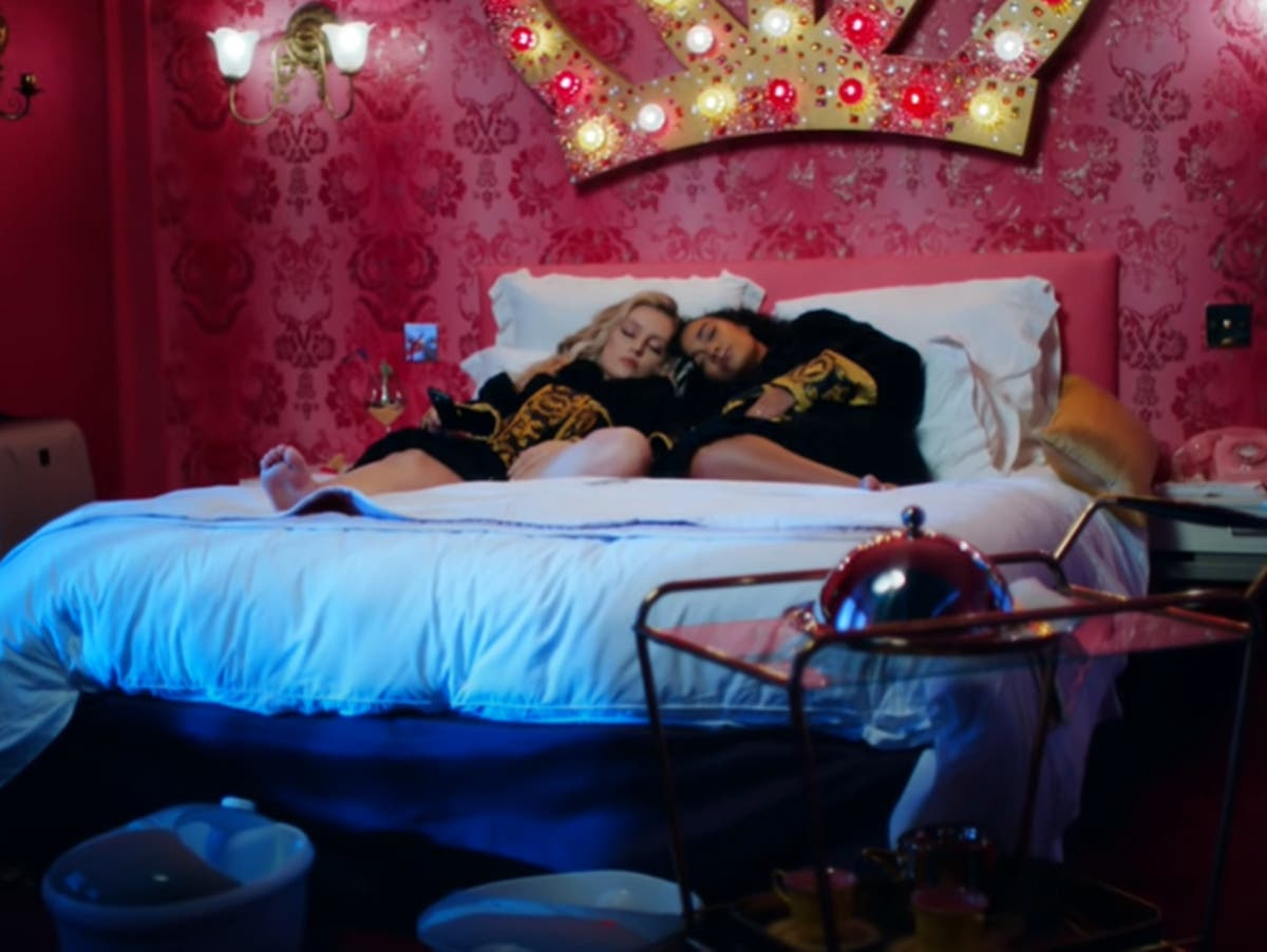 Little Mix's Perrie Edwards and Leigh-Anne Pinnock reveal baby bumps in new music video