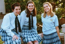 'The film that launched a thousand sleepovers': Anne Hathaway celebrates 20th anniversary of The Princess Diaries