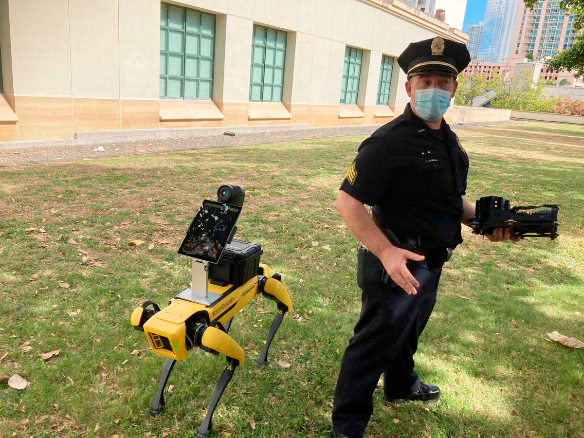 Robotic police dogs: Useful hounds or dehumanising machines?