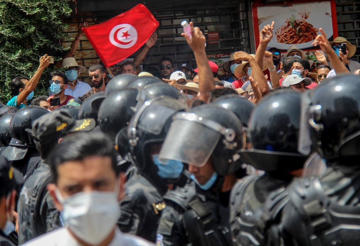 Tunisia's turmoil is being watched warily around the globe