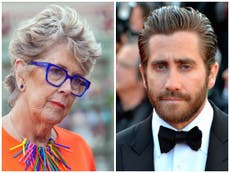 Jake Gyllenhaal says he finds Great British Bake Off's Prue Leith 'mesmerising'