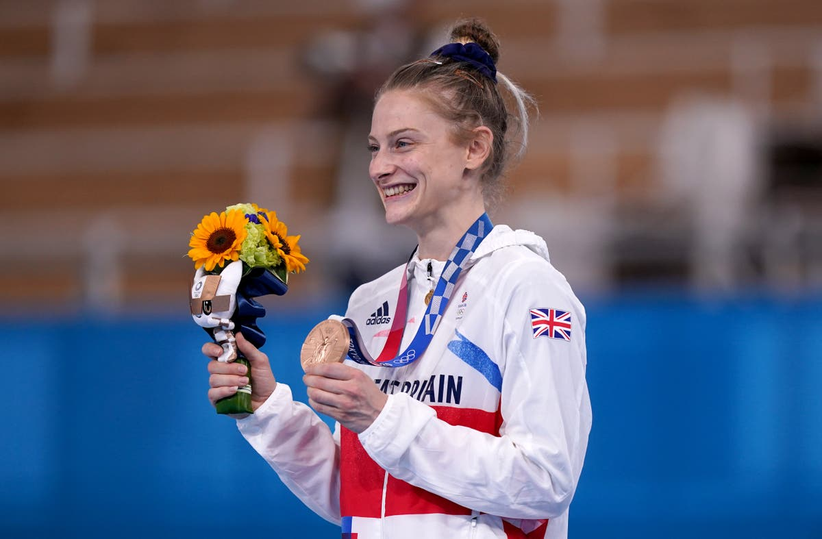 Bryony Page delighted with second Olympic medal on the bounce after injury woes