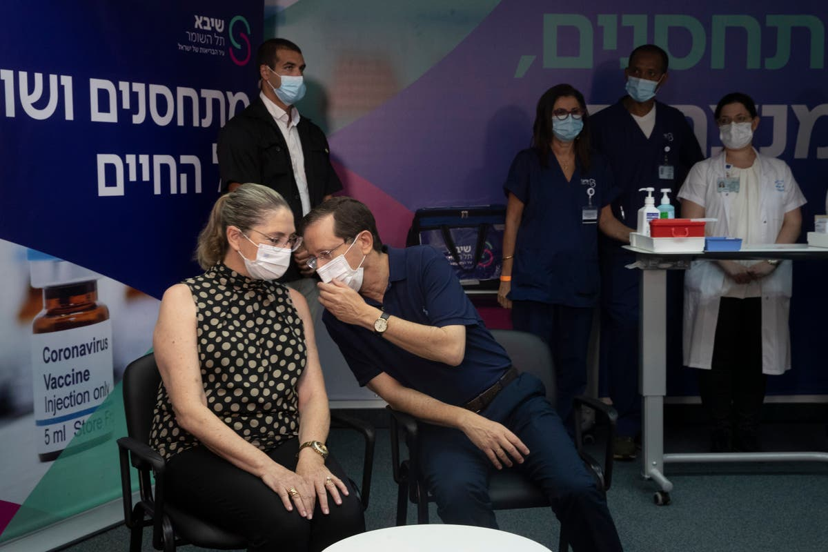 Israel delivers booster shots of vaccine to people over 60