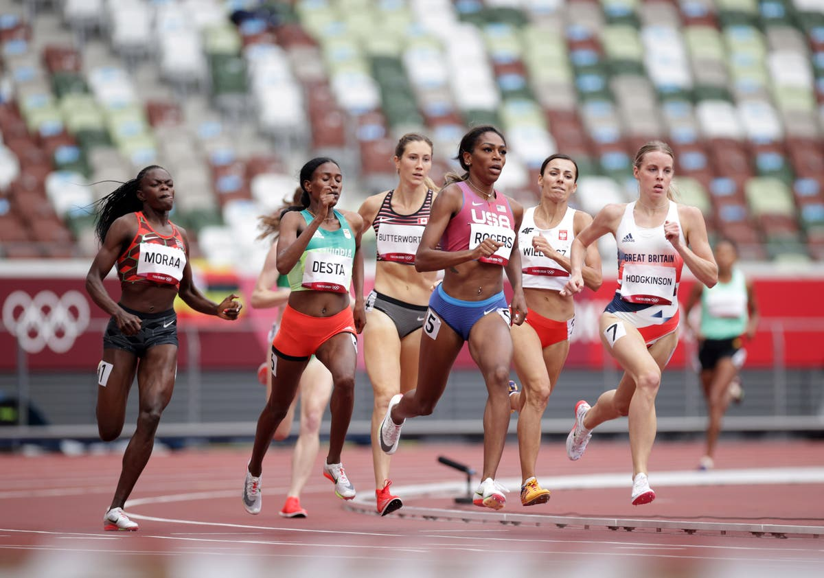 Major threat for 800m gold pulled from start line over Ethiopian dispute