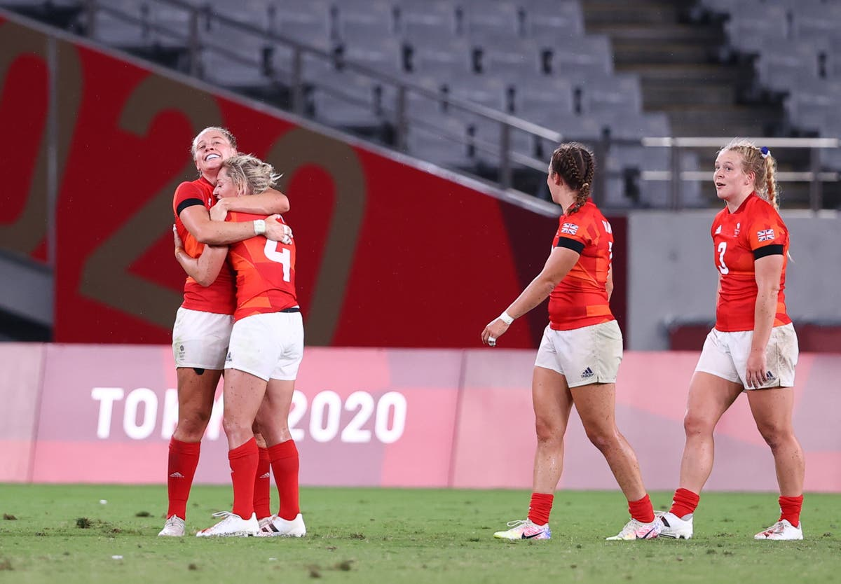 Great Britain's women one win away from Olympic rugby sevens final