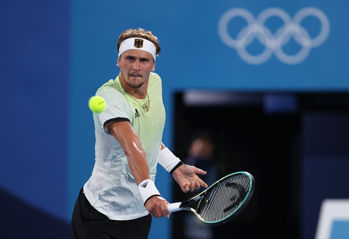 Who is in the men's tennis singles final at the Olympics?