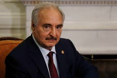 Key Libya commander backs reopening of Mediterranean highway