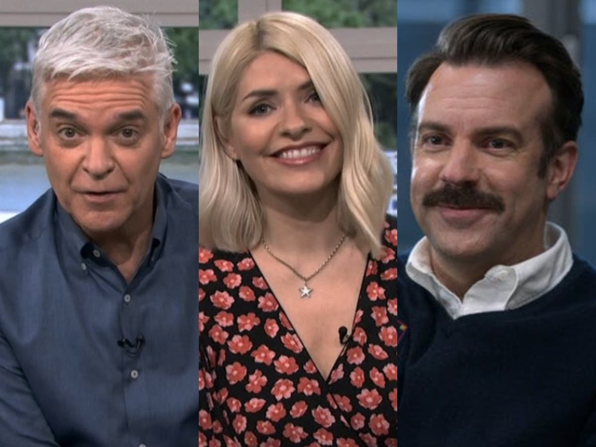 Holly Willoughby and Phillip Schofield delight fans with surprise Ted Lasso cameo