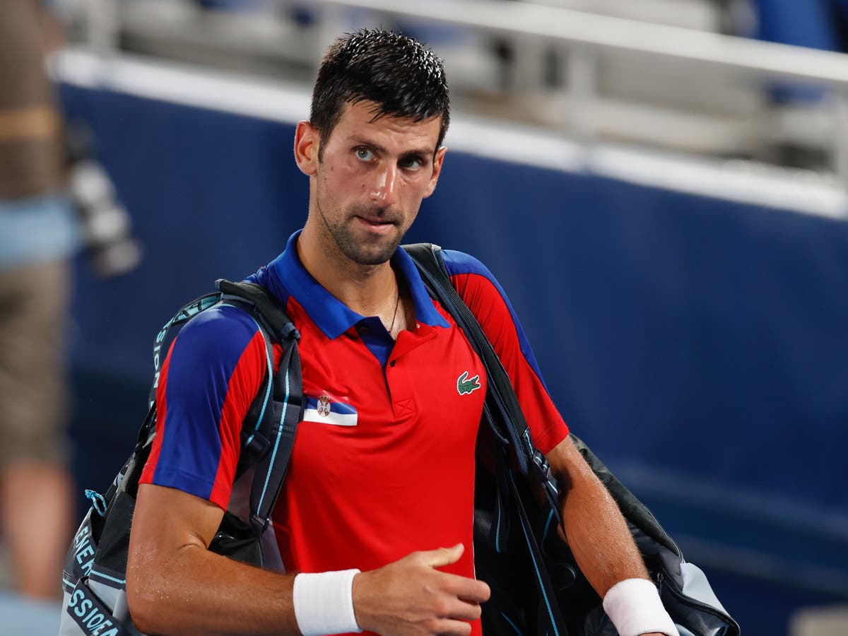 Novak Djokovic shrinks in biggest moments to lose chance at 'Golden Slam'