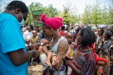 EN: 100,000 children in Ethiopia's Tigray face deadly hunger