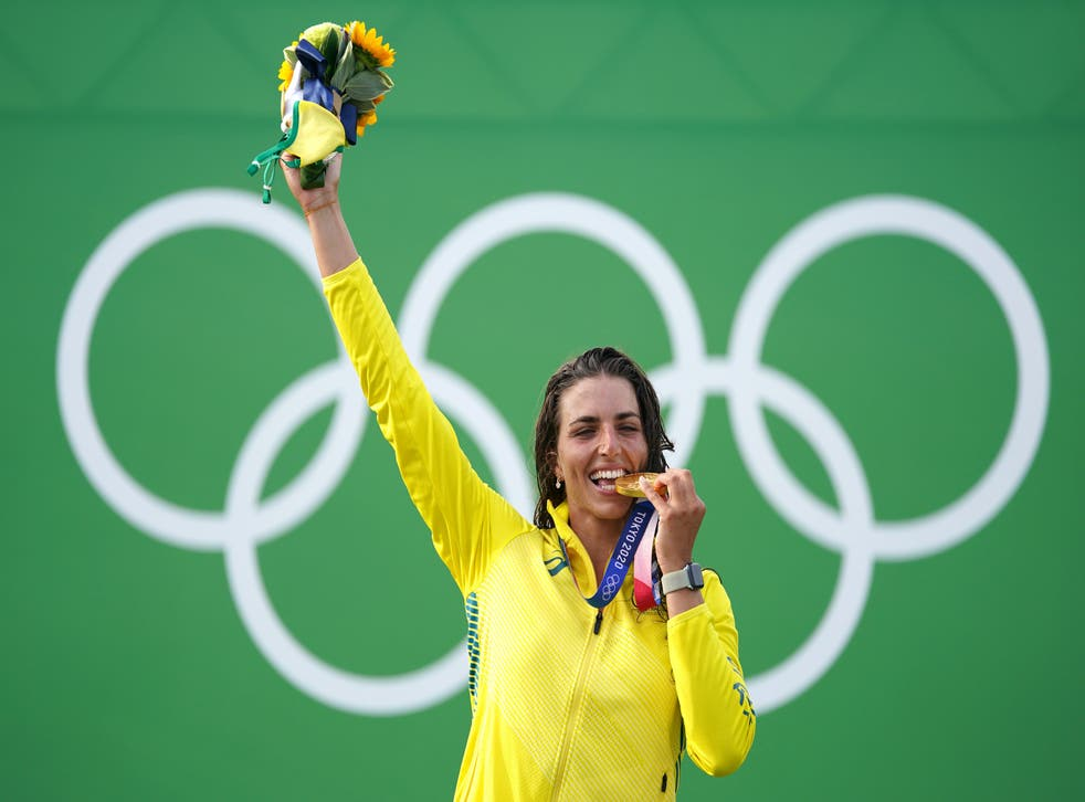 <p>Jessica Fox won gold on Thursday</bl>
