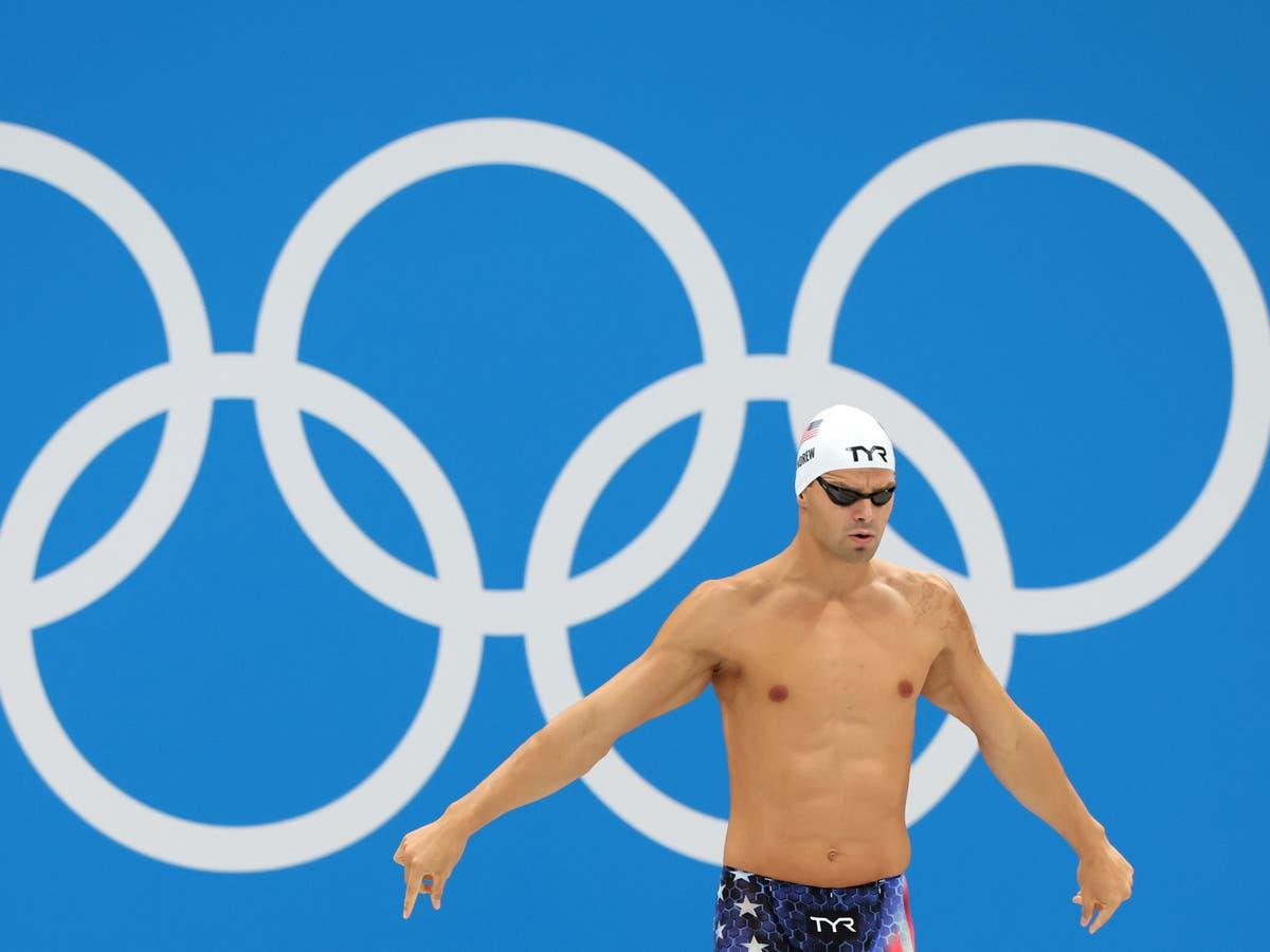 Anti-vax Olympic swimmer slammed for refusing to wear mask