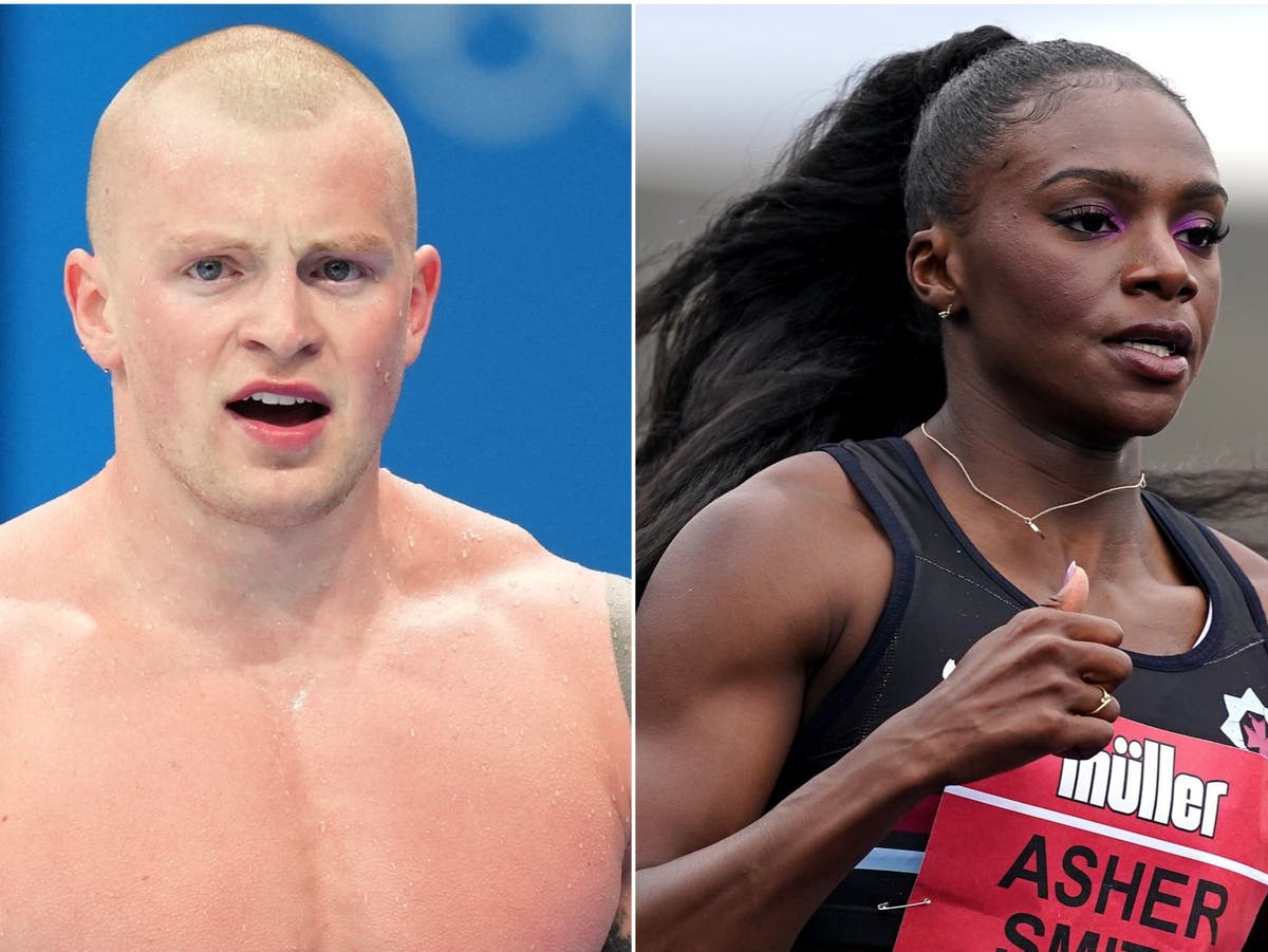 Dina Asher-Smith and Adam Peaty aiming for medals in Tokyo on Saturday