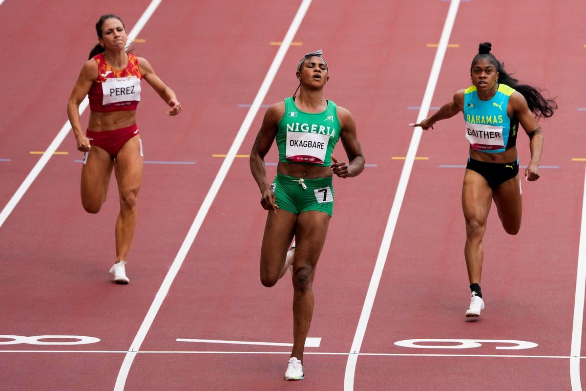 Olympics Latest: Nigerian sprinter provisionally suspended