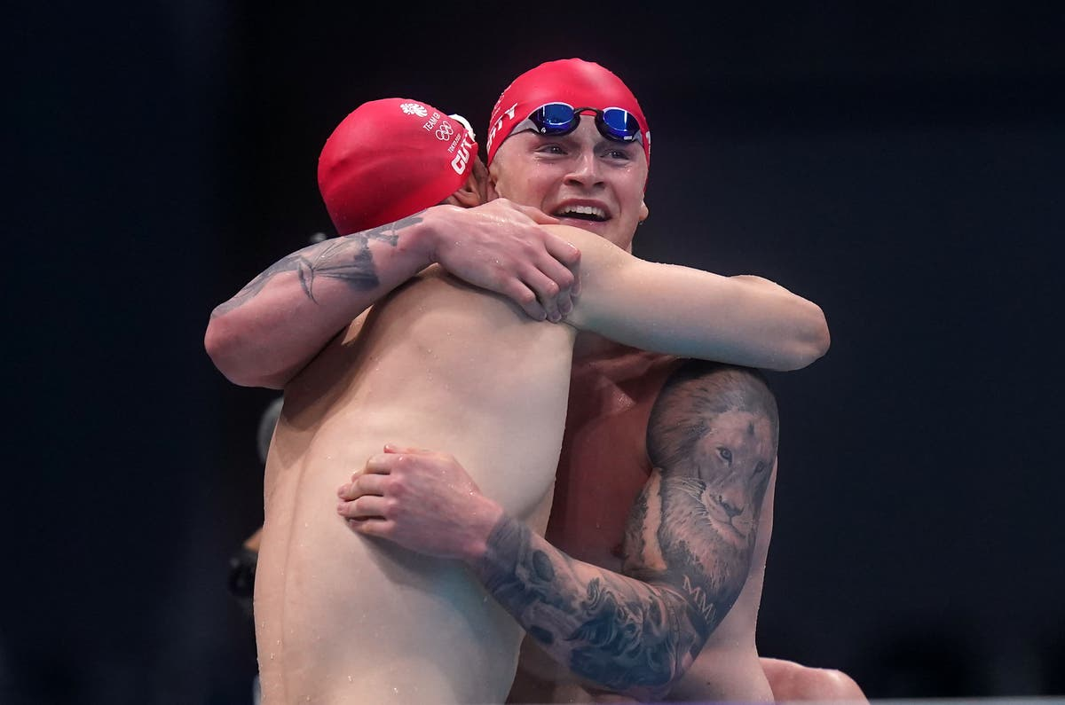 Great Britain take medley relay gold to match best Olympic swimming medal haul