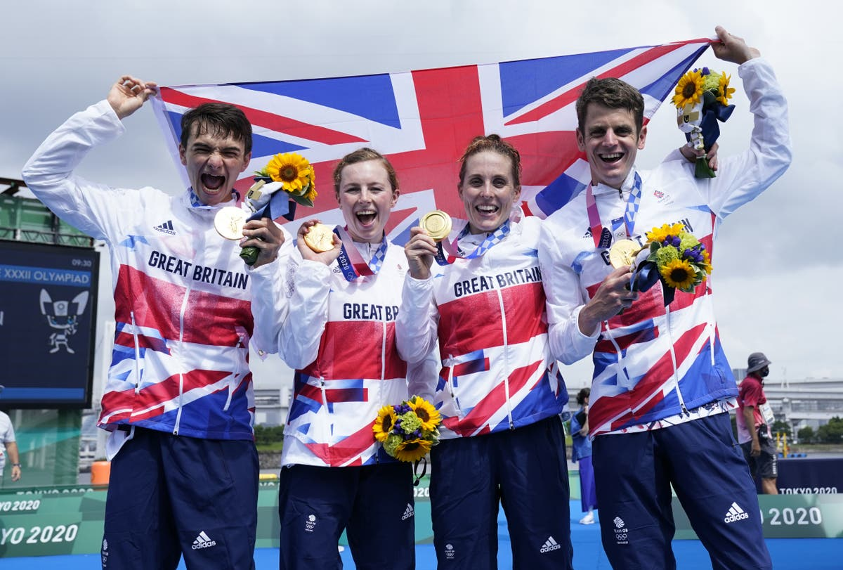 'Olympics, I've completed it' – Jonny Brownlee gets his gold in mixed team relay