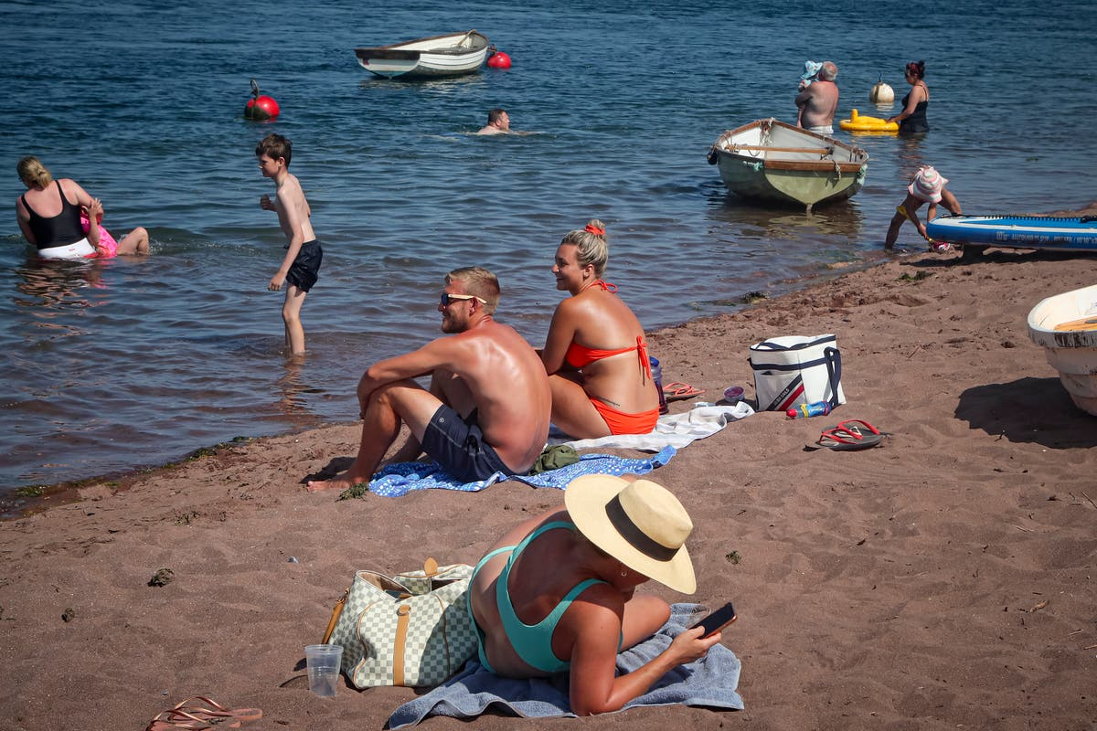 Glimpses of bygone era in English seaside holiday village