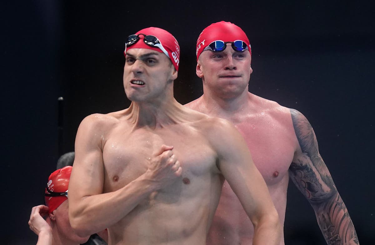Vandag by die Olimpiese Spele: Team GB double up with triathlon and swimming relay golds