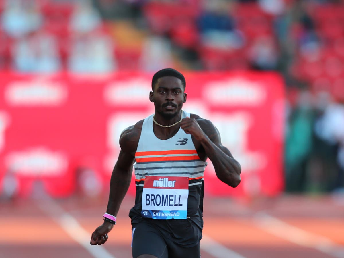 Who is Trayvon Bromell? The USA 100m sprinter going for gold at the Tokyo Olympics