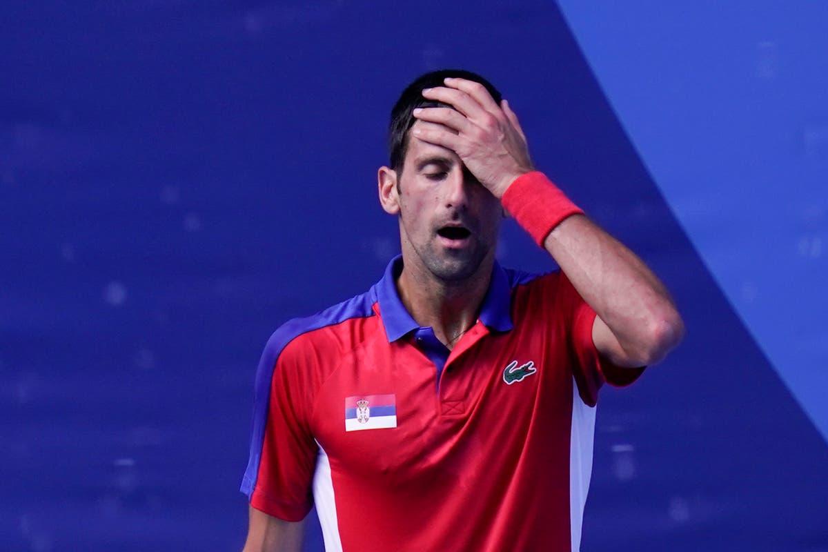 Djokovic's temper flares up in bronze-medal match loss