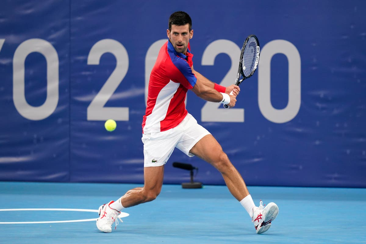 Novak Djokovic admits on-court 'outburst' in Tokyo likely won't be his last