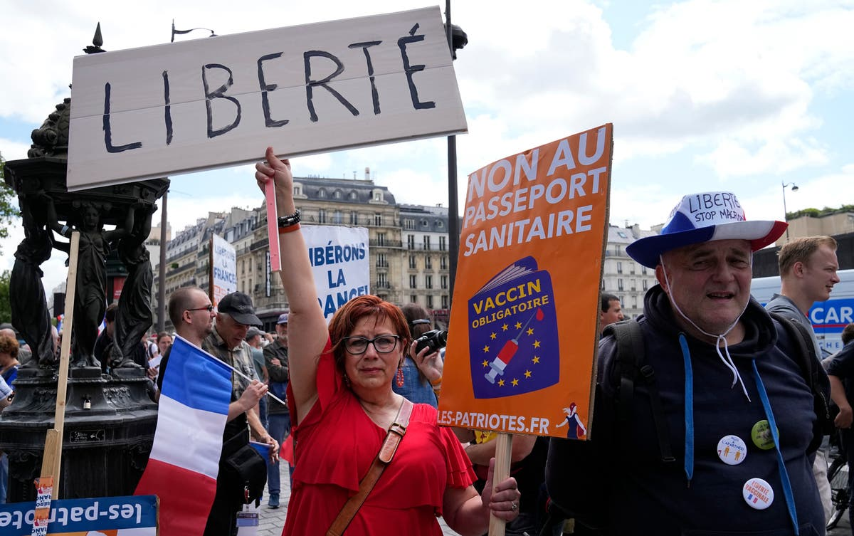 French security forces brace for anti-health pass protests