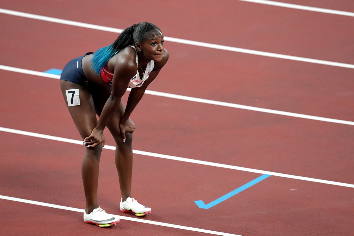 Tearful Dina Asher-Smith reveals 'heart-breaking' backdrop to injury-hit Games