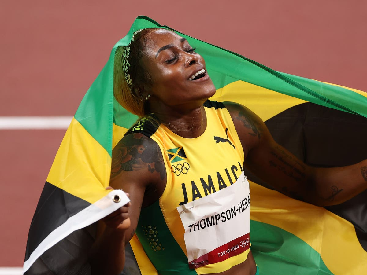 Elaine Thompson-Herah says she used 'bad comments' as motivation to defend Olympic 100m title at Tokyo 2020