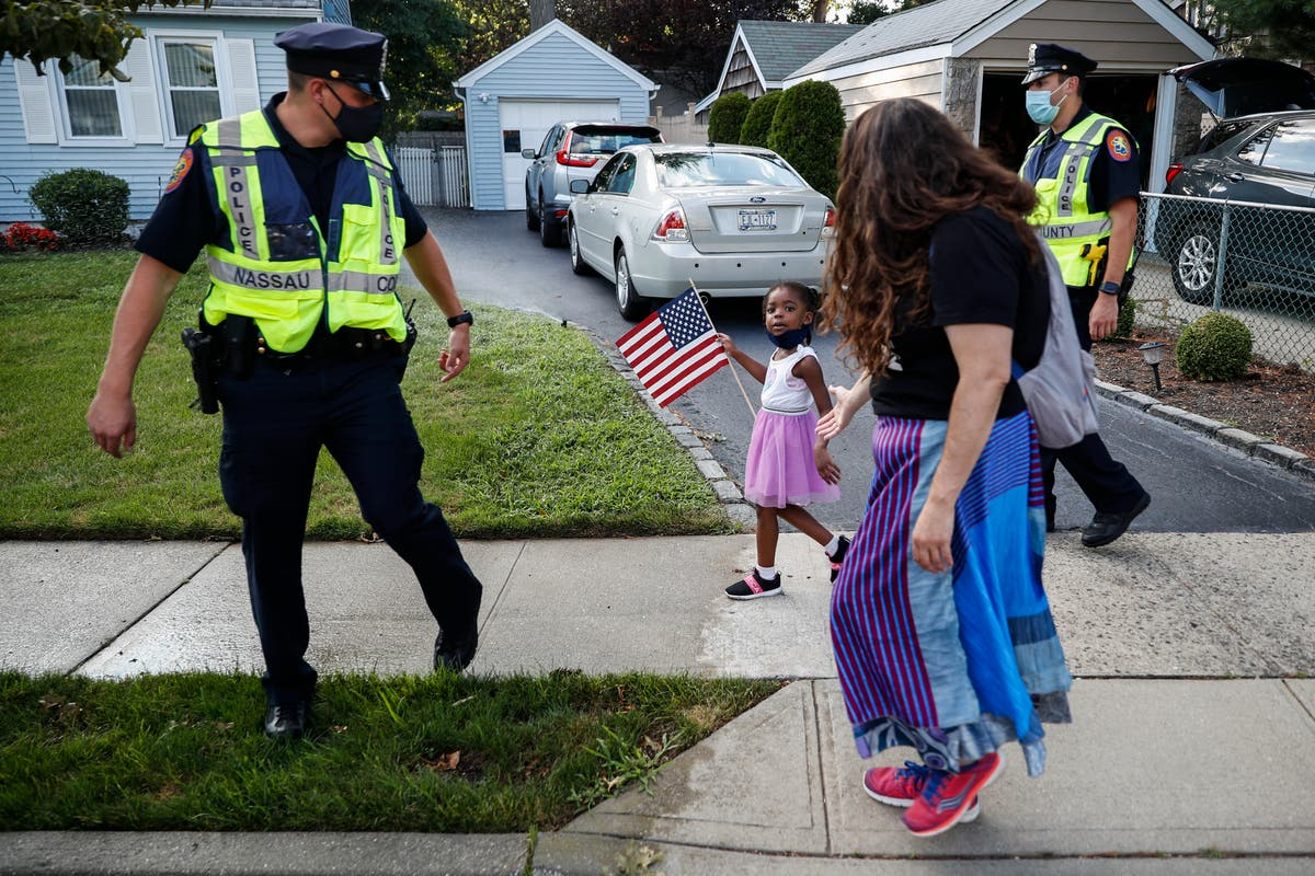Suburban NY county considers letting police sue protesters