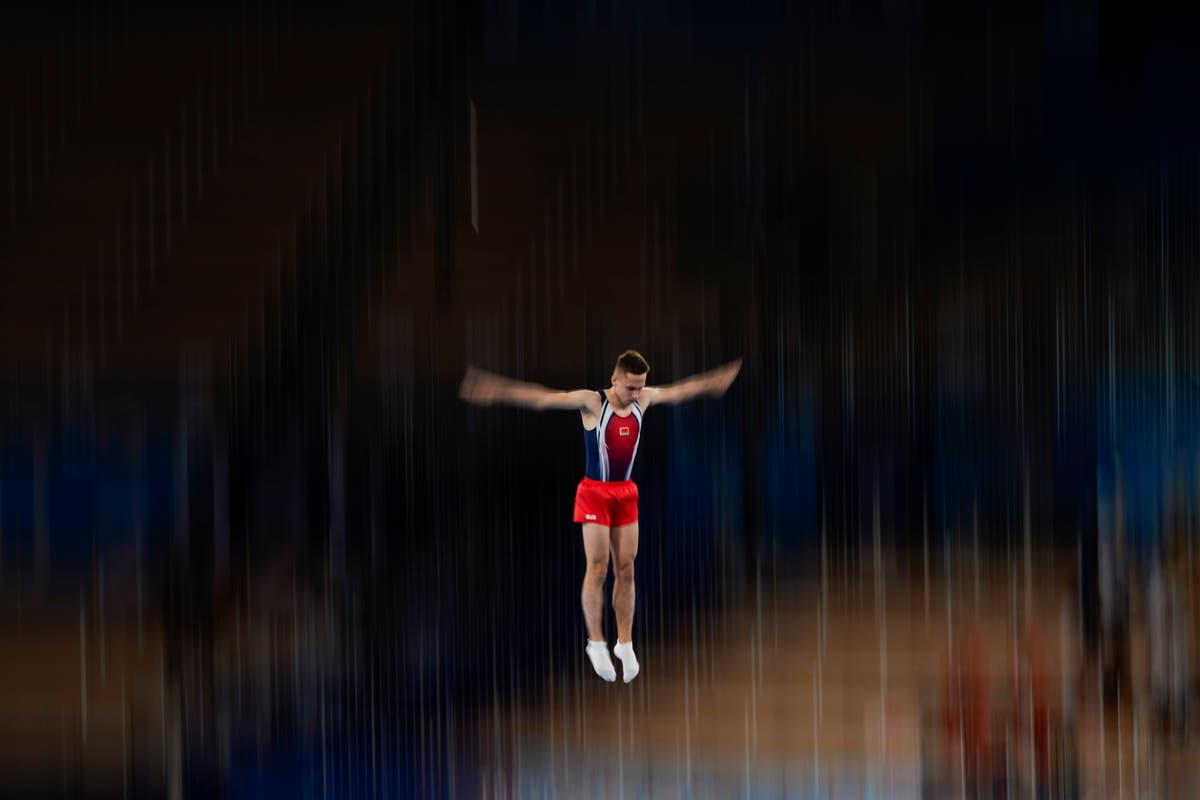 APERÇUS: Up, up and away on Olympic trampolines