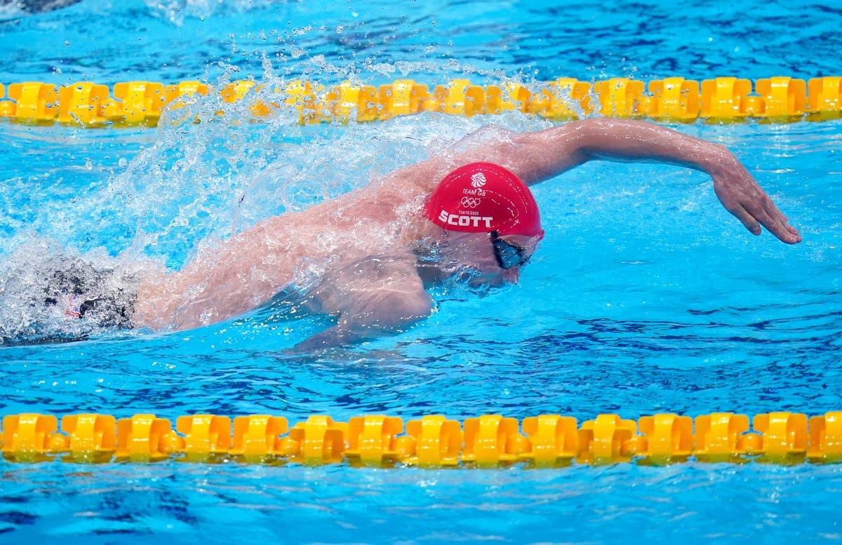 ダンカンスコットがメドレーリレーチームが銀メダルを獲得し、英国オリンピックの歴史を築く