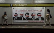 メキシコが元大統領の説明責任に関する国民投票を行う