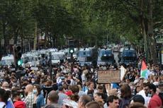 France anti-vax and anti-health pass protests take aim at Macron