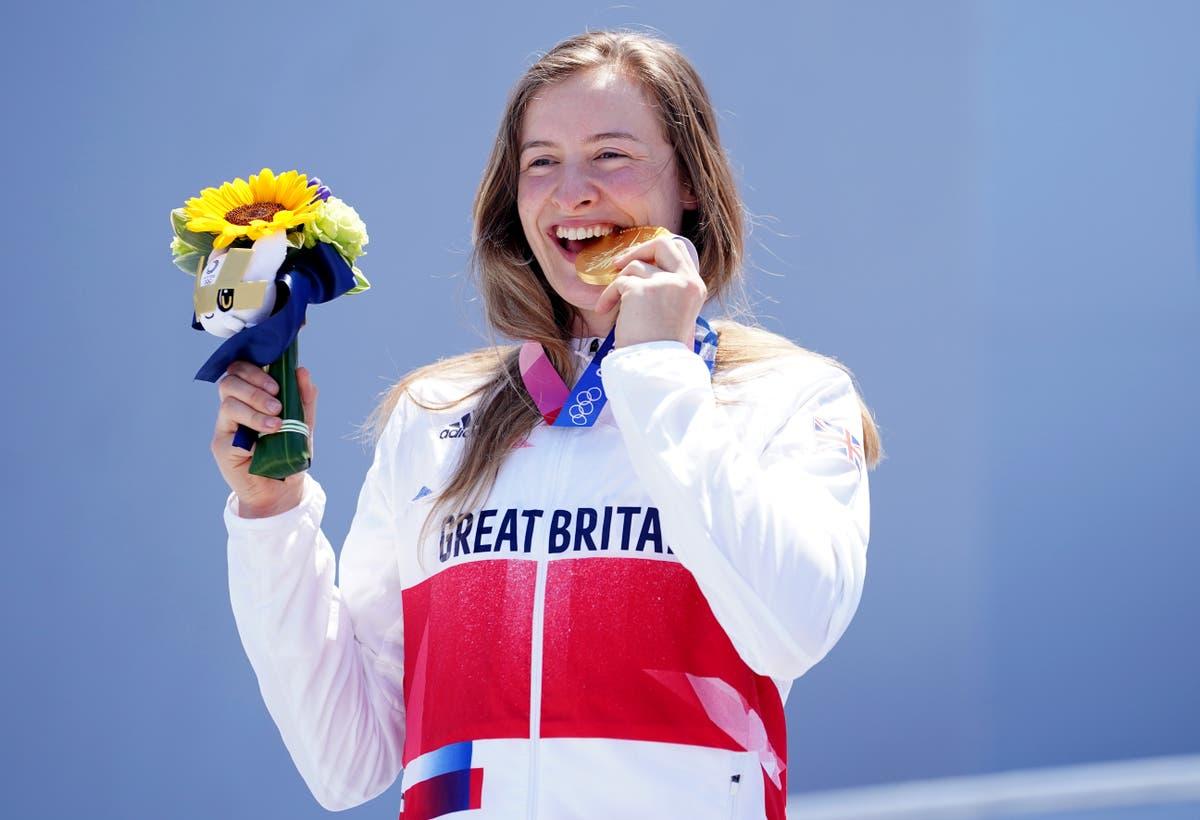 Aujourd'hui aux Jeux: Charlotte Worthington grabs BMX freestyle gold for GB