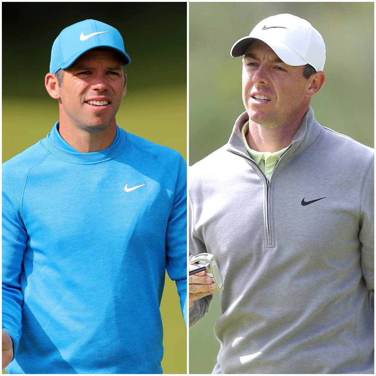 Paul Casey and Rory McIlroy in bronze medal play-off