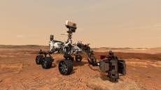 Mars -kratergjennombrudd er Nasas 'beste innsats' for å finne fremmed liv