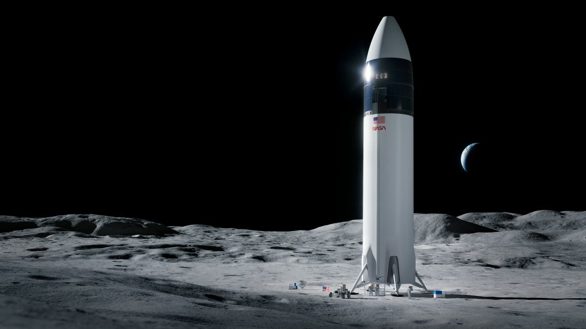 Elon Musk's Starship moved to launch site ahead of flight into space