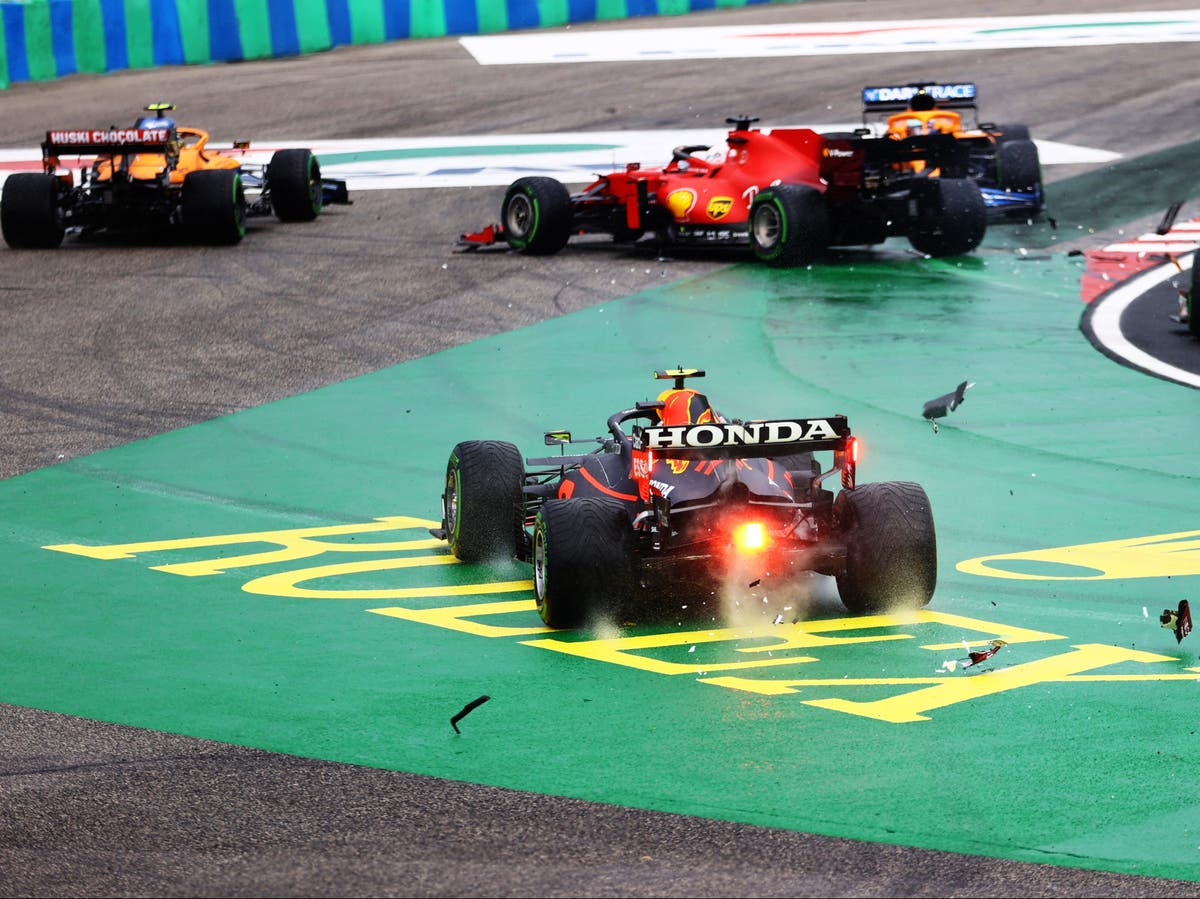 First-lap incident takes Bottas, Norris, Leclerc, Perez and Stroll out of Hungarian GP