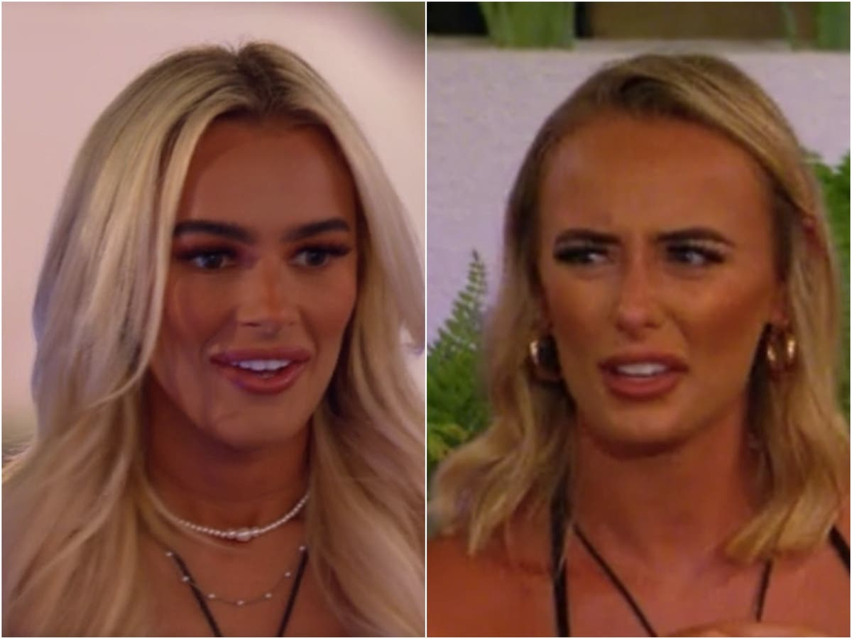 Millie and Lillie meet for tell-all Liam conversation in tensest Love Island episode yet