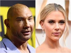 Dave Bautista divides fans with post about Scarlett Johansson's Black Widow lawsuit against Disney