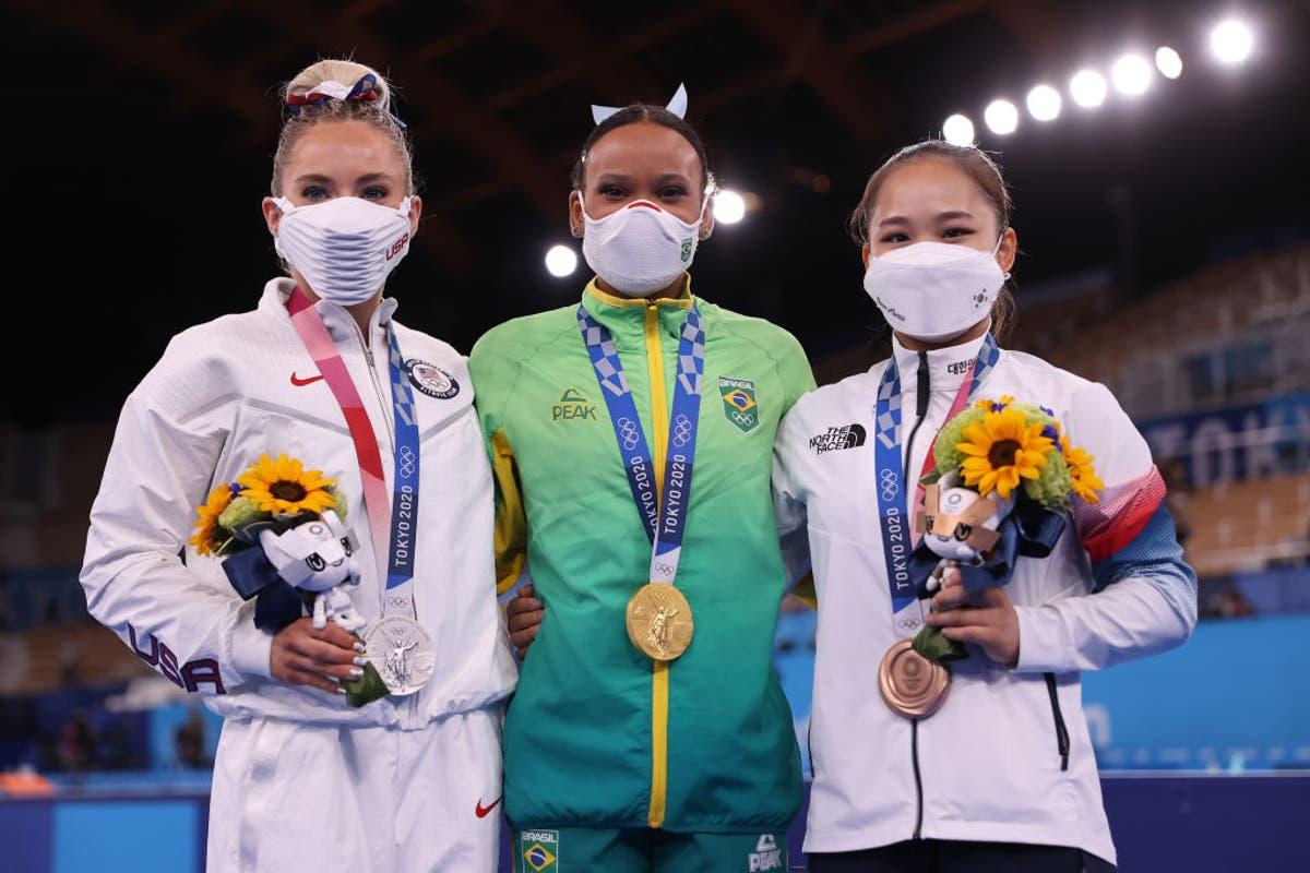 MyKayla Skinner trouve le succès en l'absence de Simone Biles de la finale de gymnastique de Tokyo