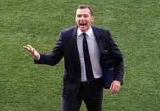 Andriy Shevchenko steps down as Ukraine manager