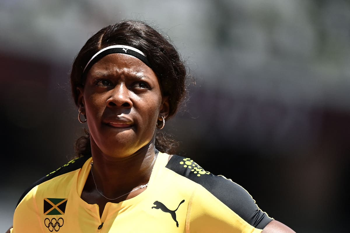 Shericka Jackson suffers shock exit in 200m after slowing down before finish line