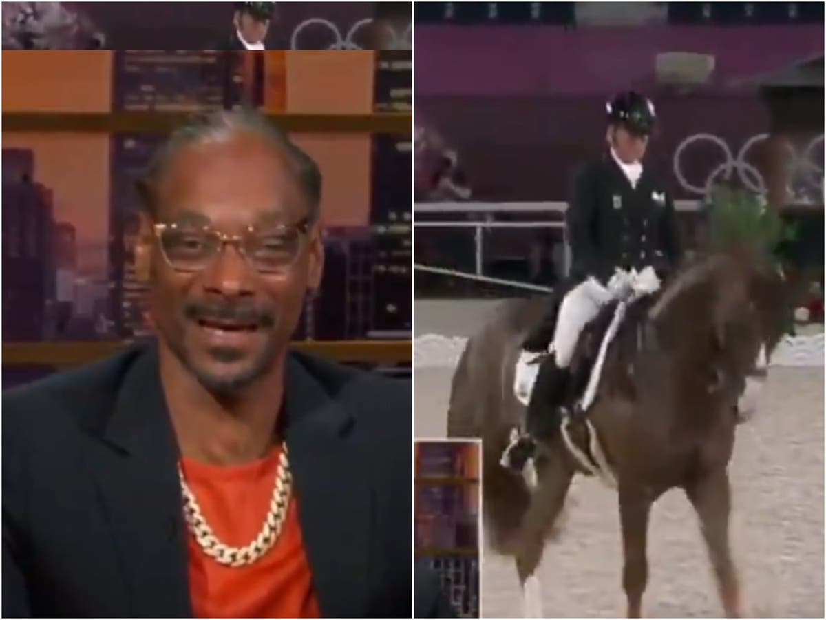 Snoop Dogg records hilarious commentary for the Olympic equestrian event