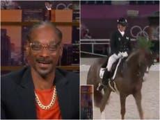 Snoop Dogg enregistre des commentaires hilarants pour l'événement équestre olympique