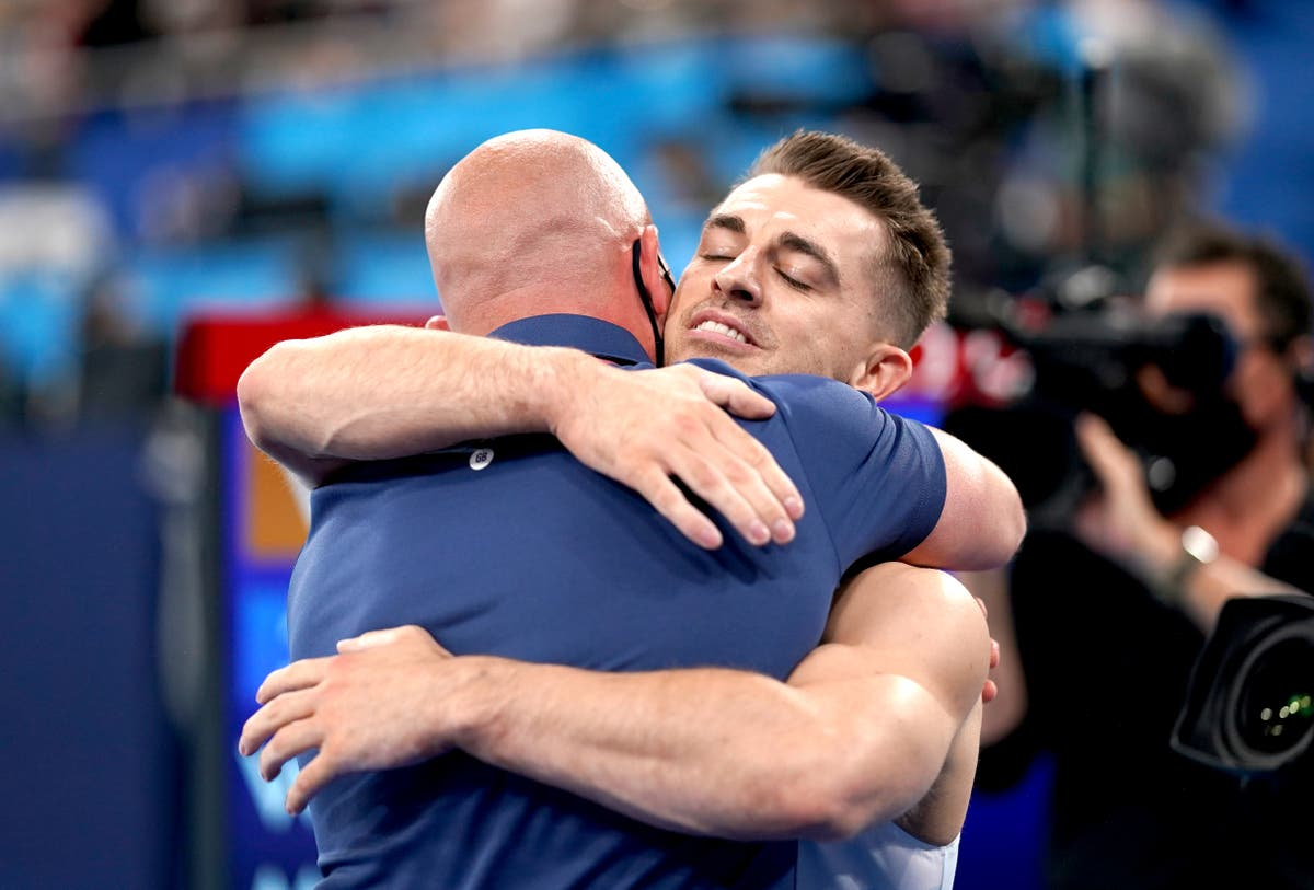 Coach ordered Max Whitlock to 'go big' to win Olympic gold