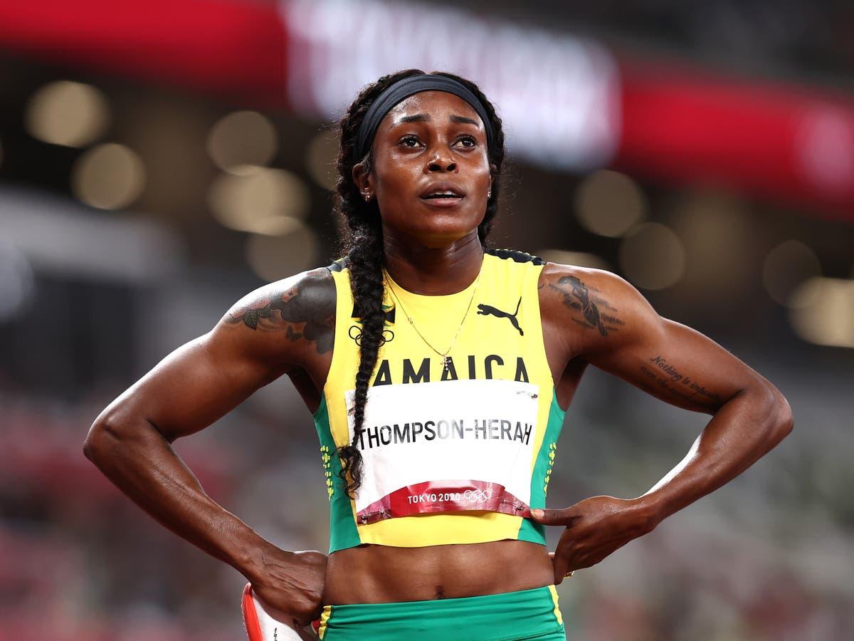 Elaine Thompson-Herah cruises into women's 200m final to keep sprint double hopes alive