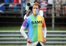 Lewis Hamilton slams F1's decision to reprimand Sebastian Vettel for LGBTQ+ T-shirt